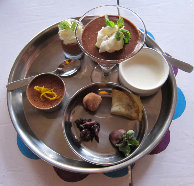 Chocolate Thali