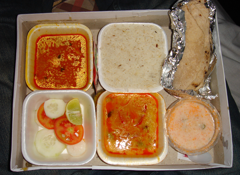 Rajasthjan Train Thali
