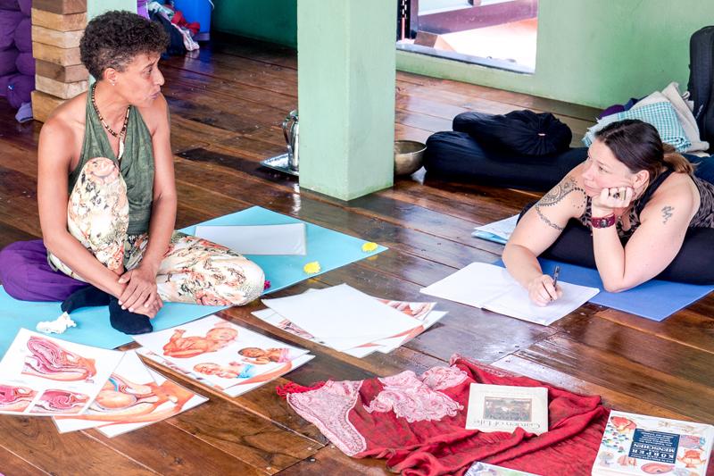 Prenatal Yoga Teacher Training with midwife